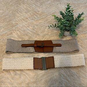 Set of 2 LOFT belts